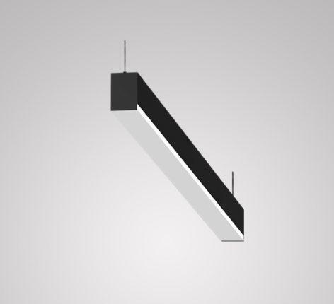 подвесной светодиодный линейный светильник